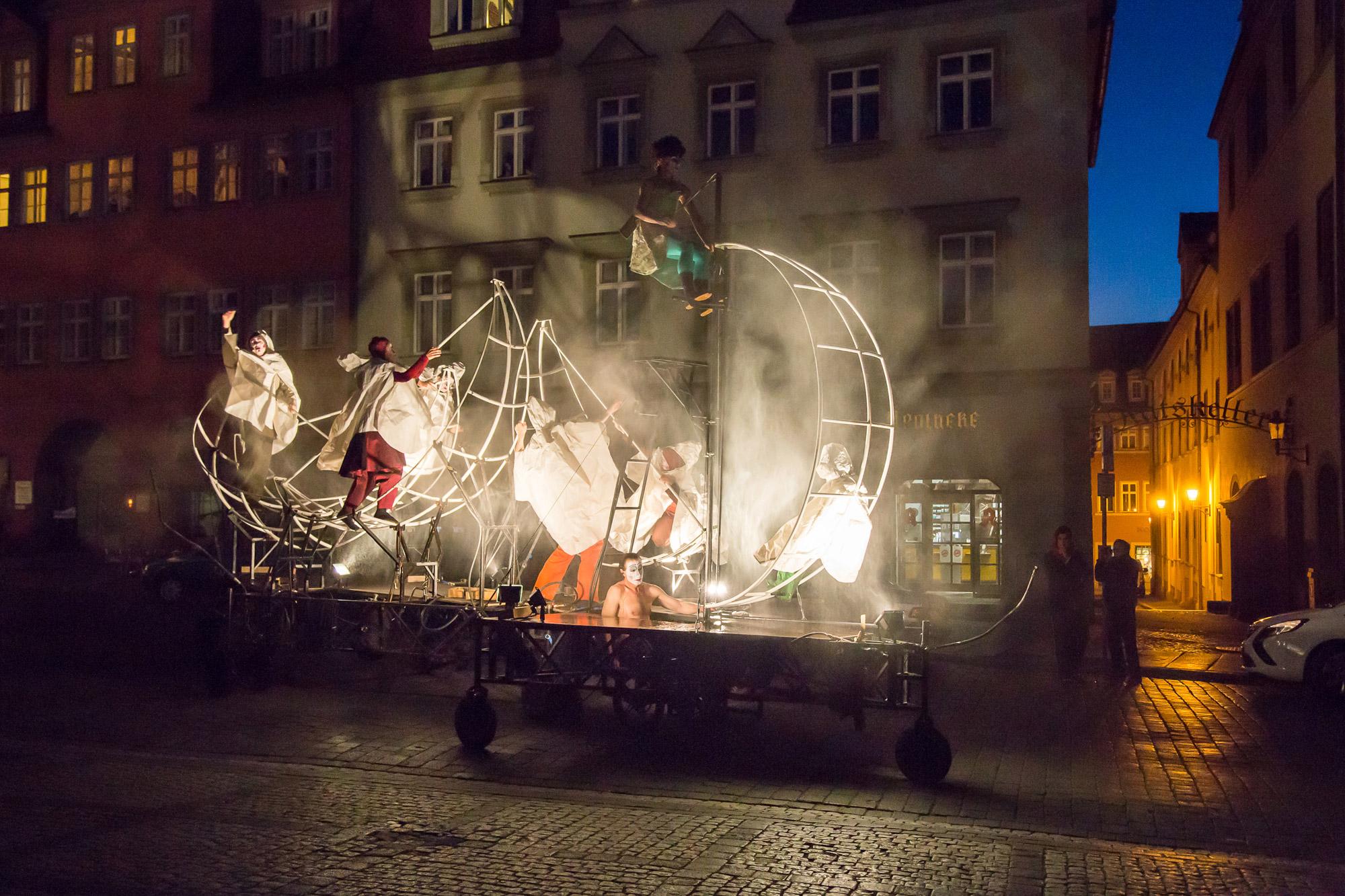 Shakespeare, Tempest, Sturm, Naumburg, PAN.OPTIKUM, Straßentheater