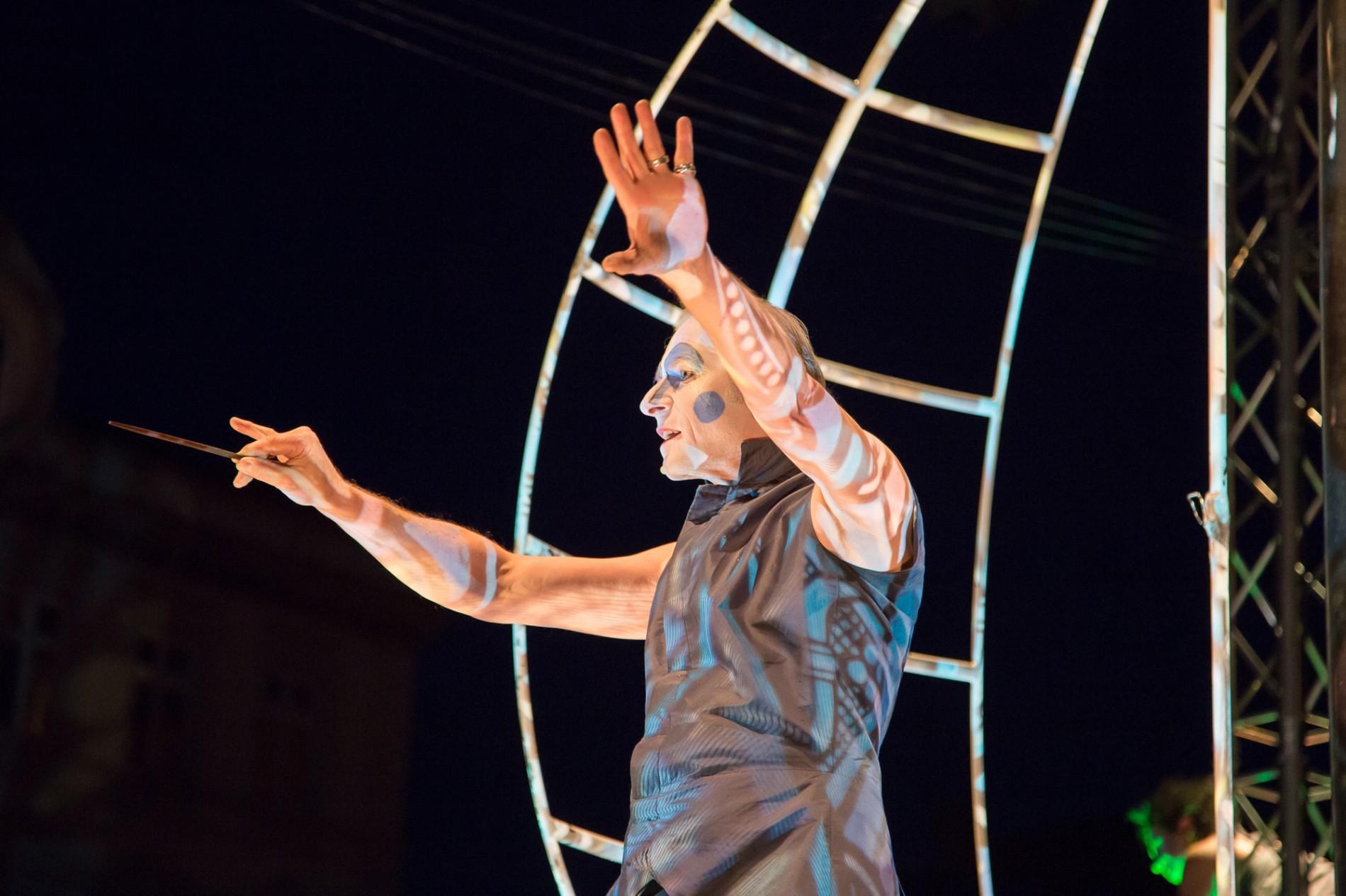 Shakespeare, Tempest, Sturm, Naumburg, PAN.OPTIKUM, Straßentheater, Michael Schmitter, Prospero