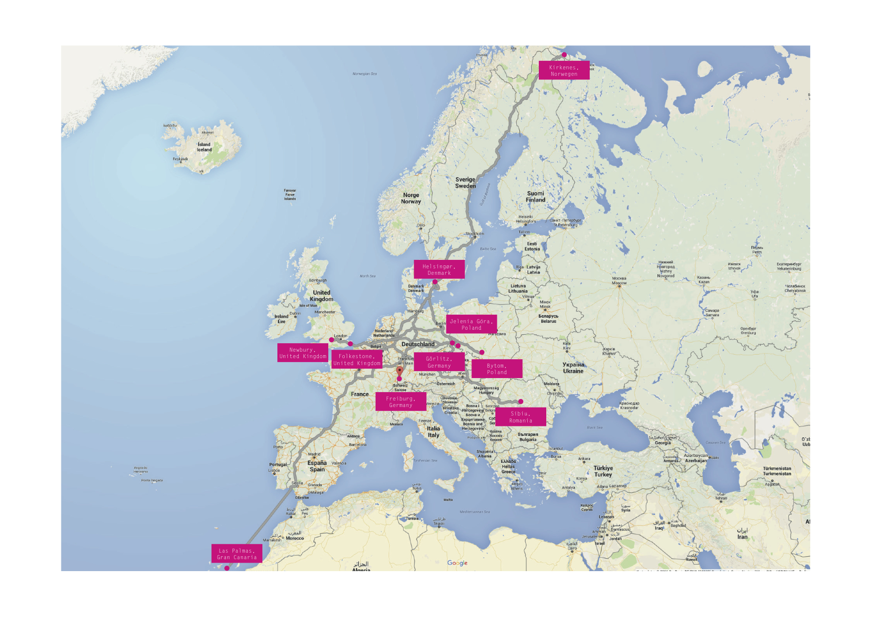 EU Karte