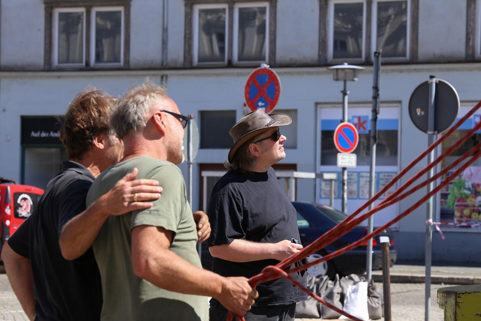 Tom Toussaint, Thomas Preuschoff-Heimsath, Matthias Rettner, Viathea, TRANSITion, Görlitz
