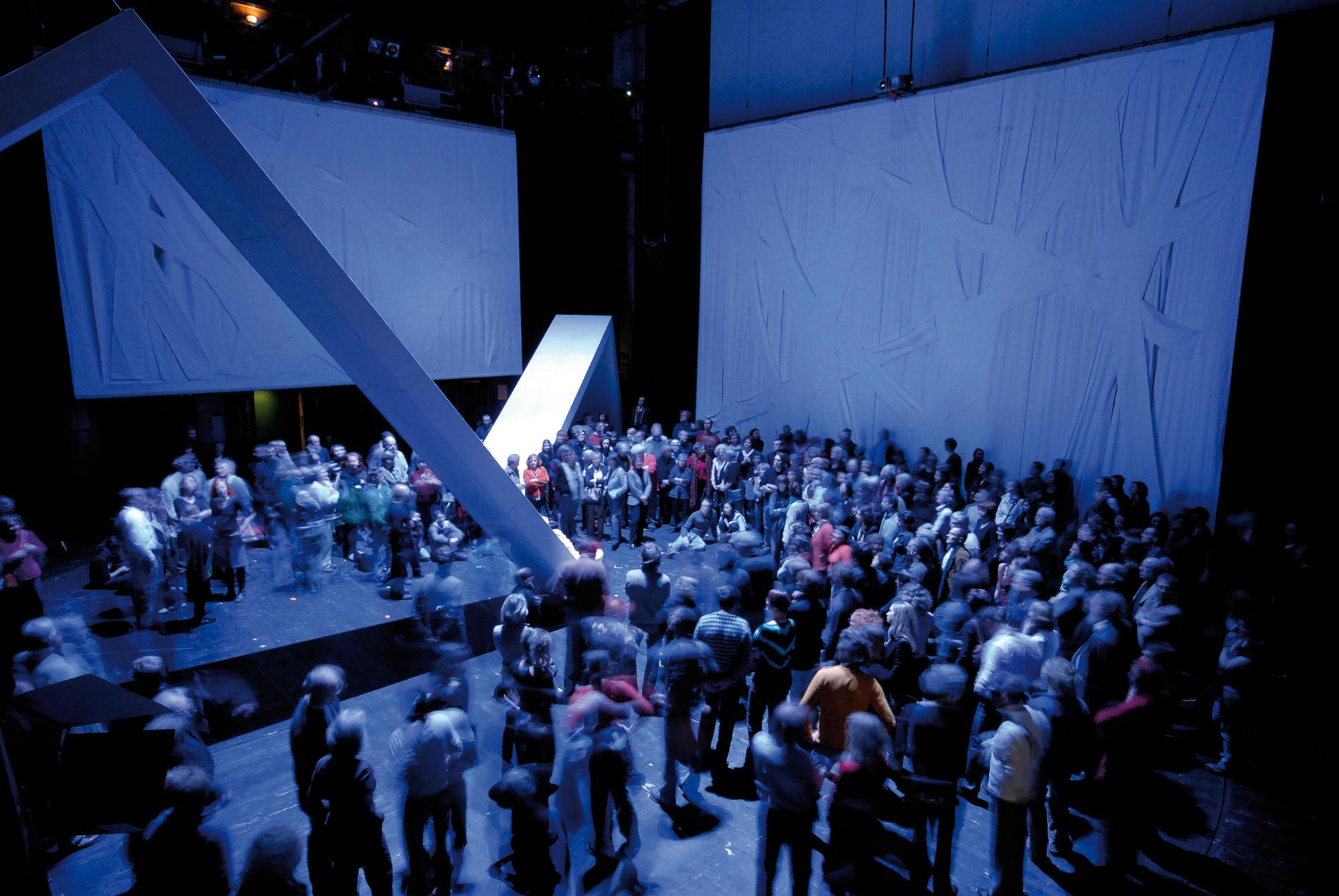 Medea. Stimmen, Christa Wolf, PAN.OPTIKUM, Theater Freiburg, Landesstiftung Baden-Württemberg, Sigrun Fritsch, Ralf Buron