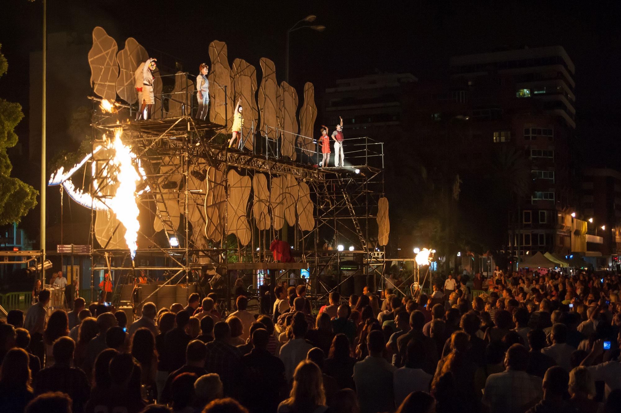Las Palmas de Gran Canaria, Temudas festival, PAN.OPTIKUM, Transition